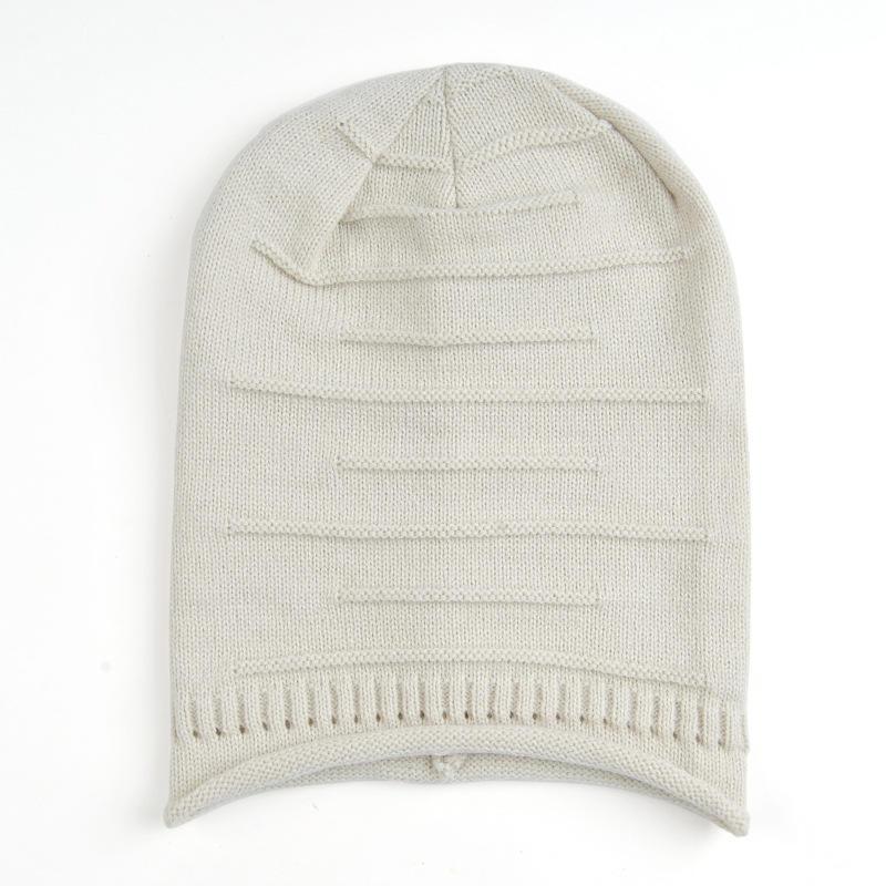 Sombreros de moda algodón Hip Hop hombres invierno anillo caliente ...