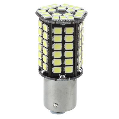 2x 15W 1156 BA15S P21W 27 LEDs Signal Reverse Turn Lights Bulb ERROR FREE Amber