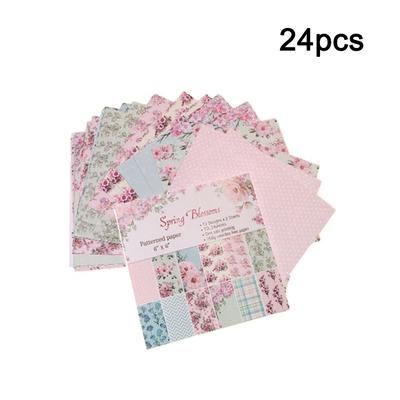 24X Scrapbooking Paper Handmade DIY Photo Album Background Craft Card 6/'/'