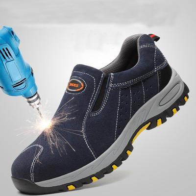 Steel Toe Safety Work Shoes Men 2019