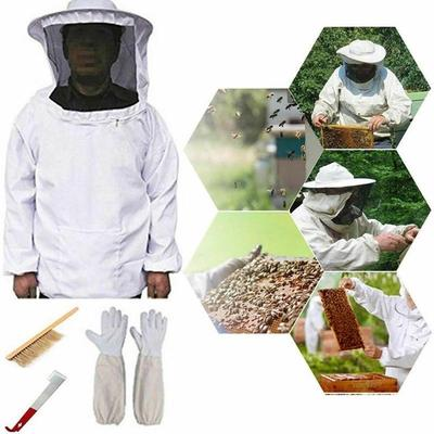 Jacket Pull Over Smock with Veil New Bee keeper Beekeeping Bee Keeping Suit