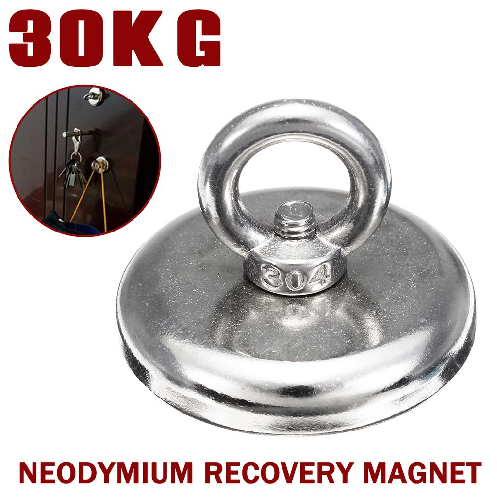 Recovery Magnet Hook Metal Strong Sea Fishing Diving Treasure Hunting Detector
