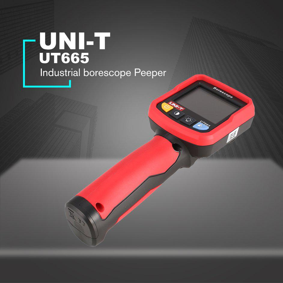 Nice UNI-T UT665 Industrial endoscope borescope Peeper inspection ...