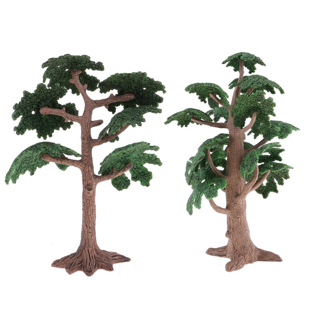 WINOMO Scale Trees Diorama Models Model Train Scenery Architecture