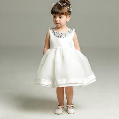 Rochie Baby Princess Perle Dantela Fete Pentru Sugari Copil Mic
