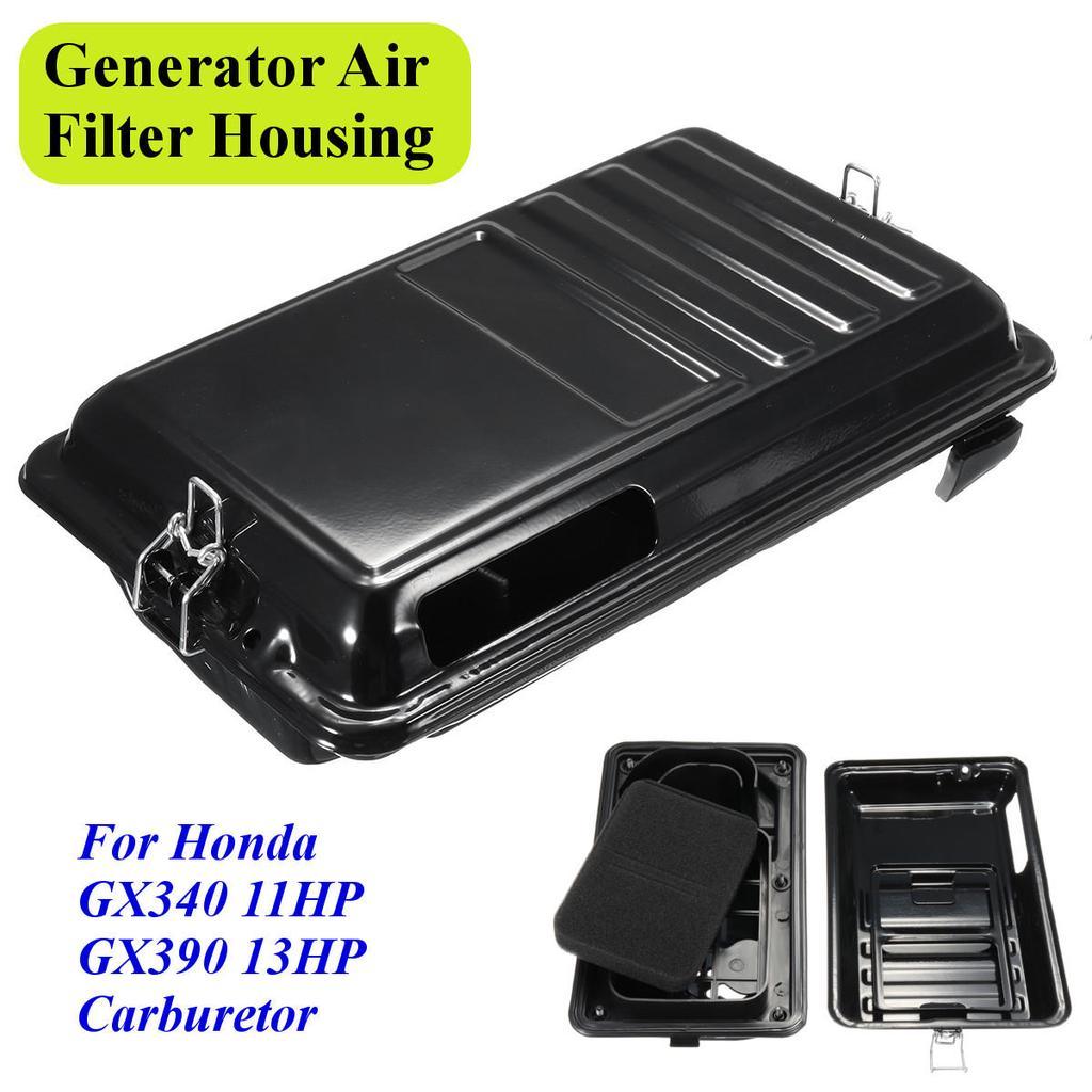Generator Air Filter Housing Assembly For Honda Gx340 11hp Gx390 Wiring Diagram 1 Of 8