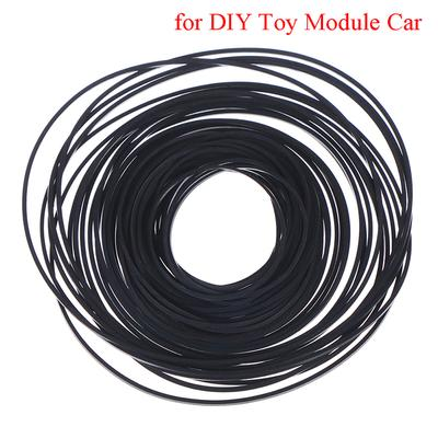 40X Small Fine Pulley Pully Belt Engine Drive Belts For DIY Toys Module Car V!