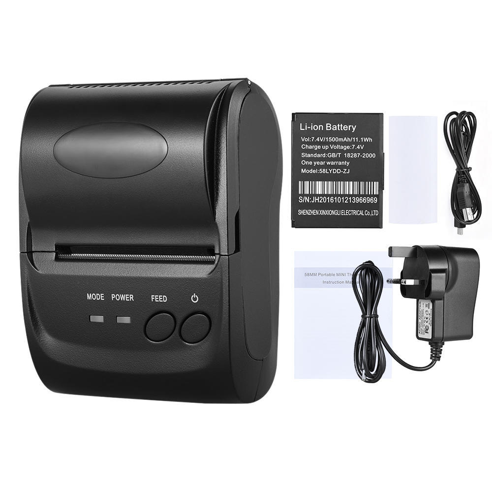 58mm Mini Bluetooth USB Thermal Printer Dot Receipt Ticket POS-iOS  Android-buy at a low prices on Joom e-commerce platform