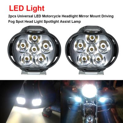 Bike Light Electric Scooter Lamp Headlight Lighting 100lm With Horn For Lithium