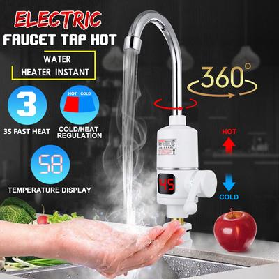 Electric Kitchen Water Heater Tap Instant Hot Water Faucet 3000w Heating Faucet For Home Temperature Buy At A Low Prices On Joom E Commerce Platform