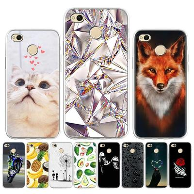 Soaptree Soft Painted Case for Xiaomi Redmi 4X Note 4X Case for Xiaomi Redmi 4A Patterns Cover