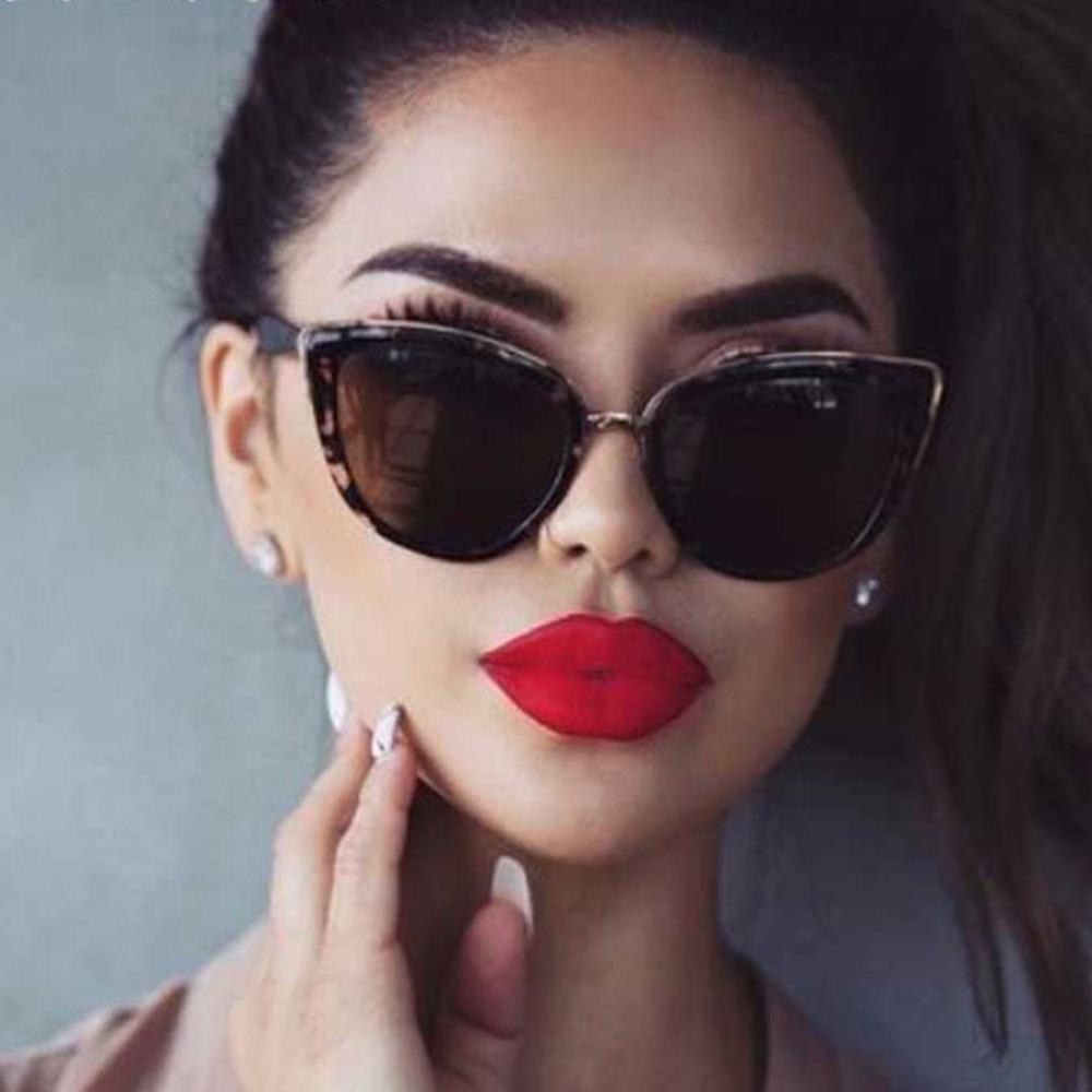 Солнцезащитные очки кошачий глаз женские винтажные градиентные очки ретро женские солнцезащитные очки женские очки UV400 – купить по низким ценам в интернет-магазине Joom