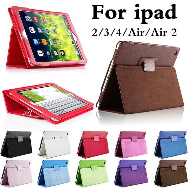 Планшетный случай для Apple Ipad 2 3 4 5 6 воздуха воздуха 2 авто сна /Wake вверх кожа PU защитная крышка фото