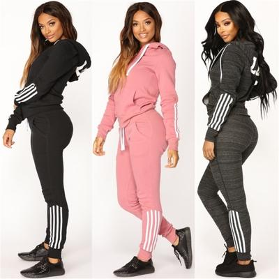 af435b8ad31 Новый женщин Толстовка мужская спортивная одежда с длинными рукавами костюм  моды и брюки спортивной одежды костюм