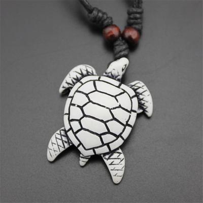 Vintage Lucky Black Imitation Yak Bone Necklace Amulet Carved Turtle Pendant Buy At A Low Prices On Joom E Commerce Platform