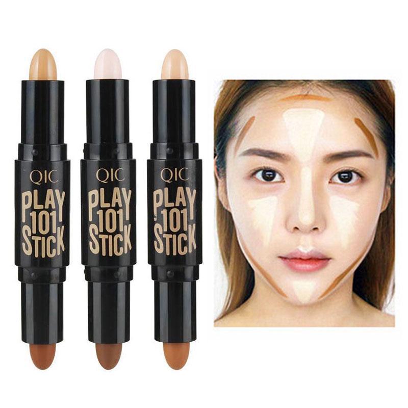 Женщины Highlighter лицо маскирующее контурной Bronzers маркеры макияж корректор контурная ручка фото