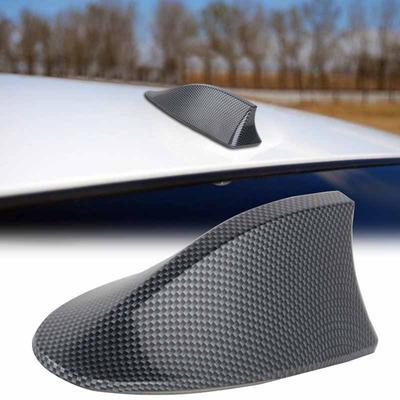 Car Vehicle Big Shark Fin Roof Antenna Aerial FM//AM Radio Signal  Trim For Ford