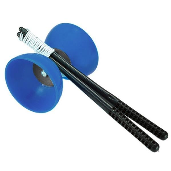 Di/ábolo Bolas Cuerda Palos de Control Juguete Deporte para Ni/ños Azul