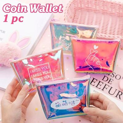 1 Piece Creative Laser Colorful Coin Purse Data Cable Key Case Buy At A Low Prices On Joom E Commerce Platform