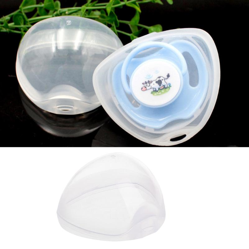 Portable Baby Nipple Box Boy Girl Infant Pacifier Cradle Case Box Holder Soother