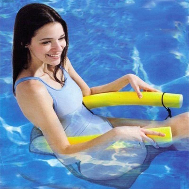 Schwimmende Stuhl Schwimmbecken Sitze Pool Wasser Mesh Netz Sessel Nudel Stuhl