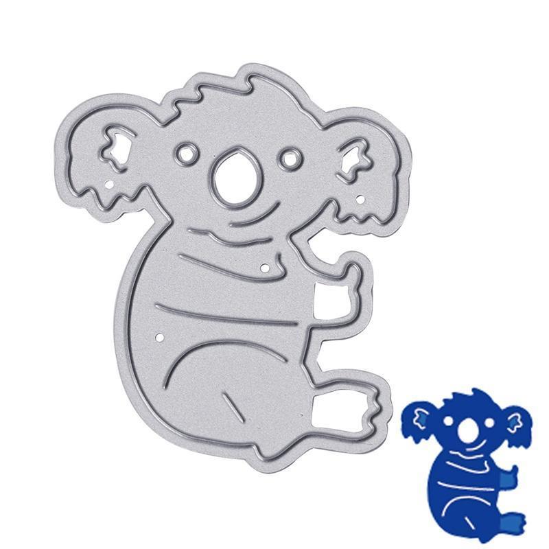 Koala r corte muere plantillas Scrapbook Album repujado tarjeta DIY ...