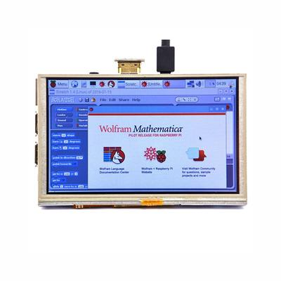 800x480 HDMI TFT LCD Display Touch Screen for Window 10 IOT