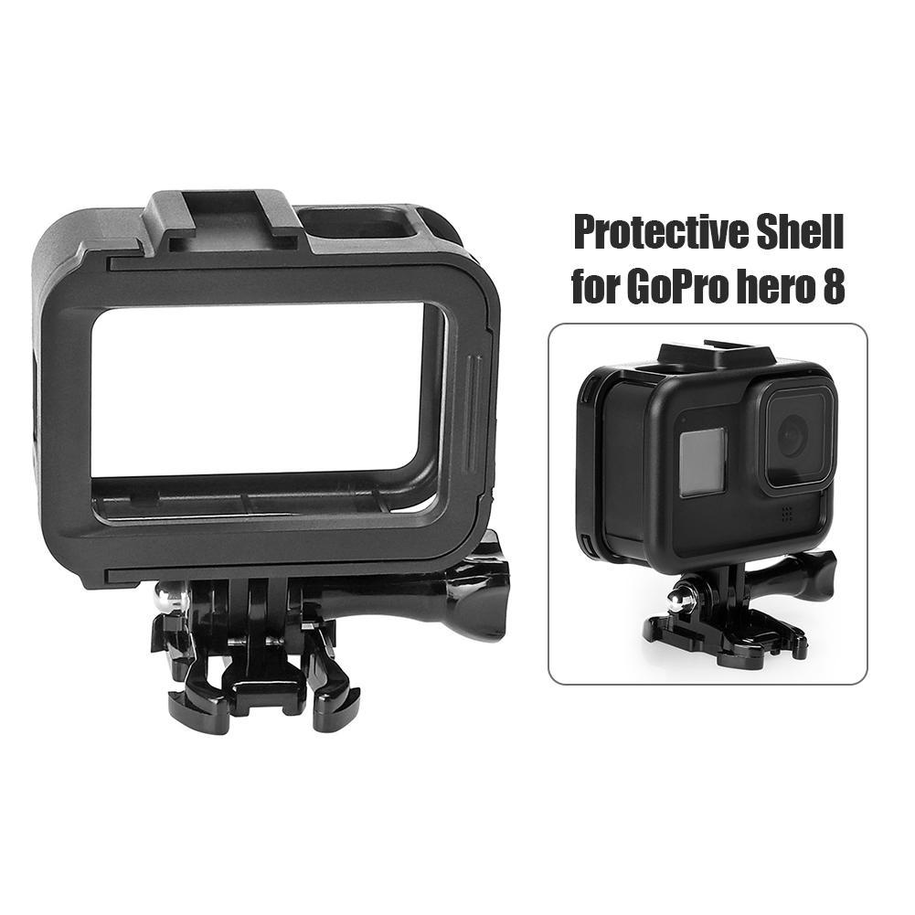 Camera Plastic Protective Housing Case Cover for Gopro Hero 8 Accessories *DC