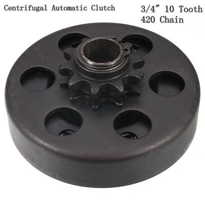 Wo Centrifugal Clutch 3/4 Bore 10 Tooth with 40/41/420 Chain