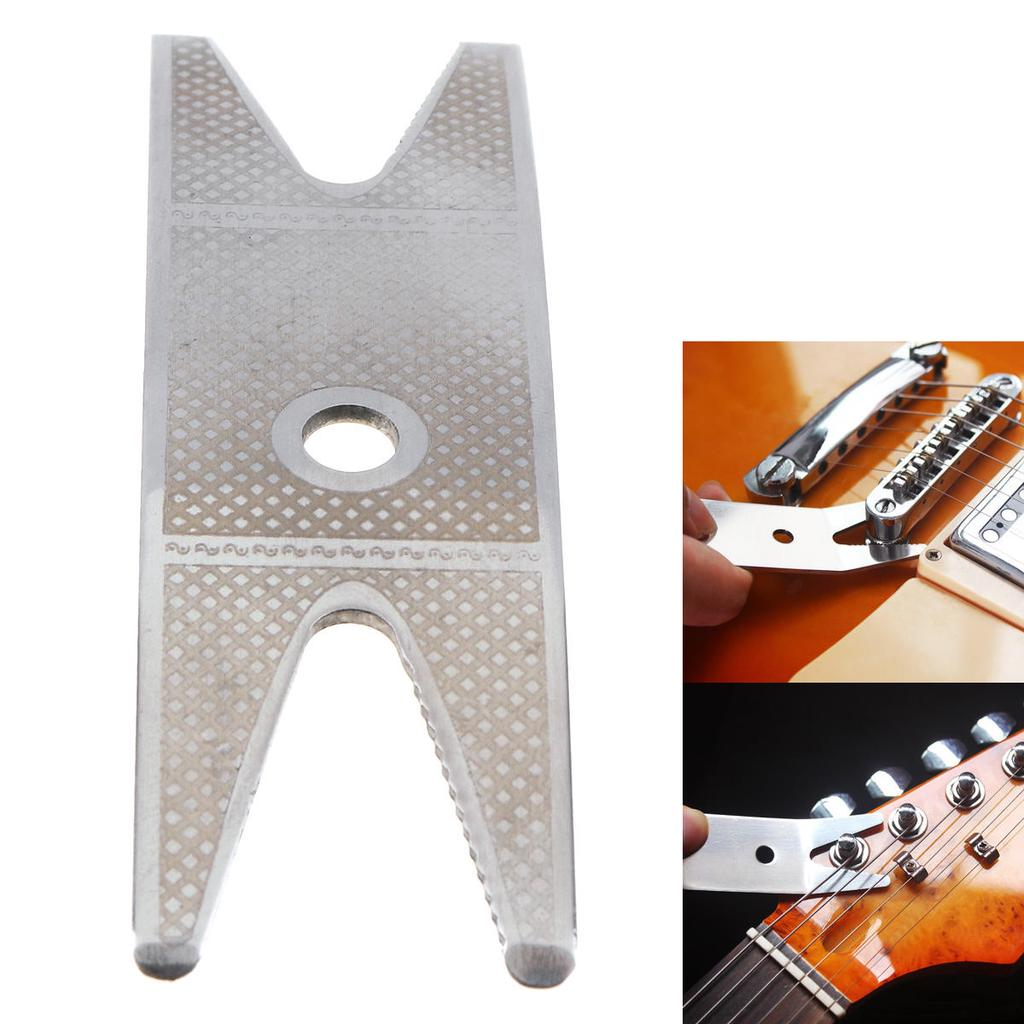 Guitar//Bass MULTI-TOOL SPANNER WRENCH Knob Remover Tuners Jack Tighten