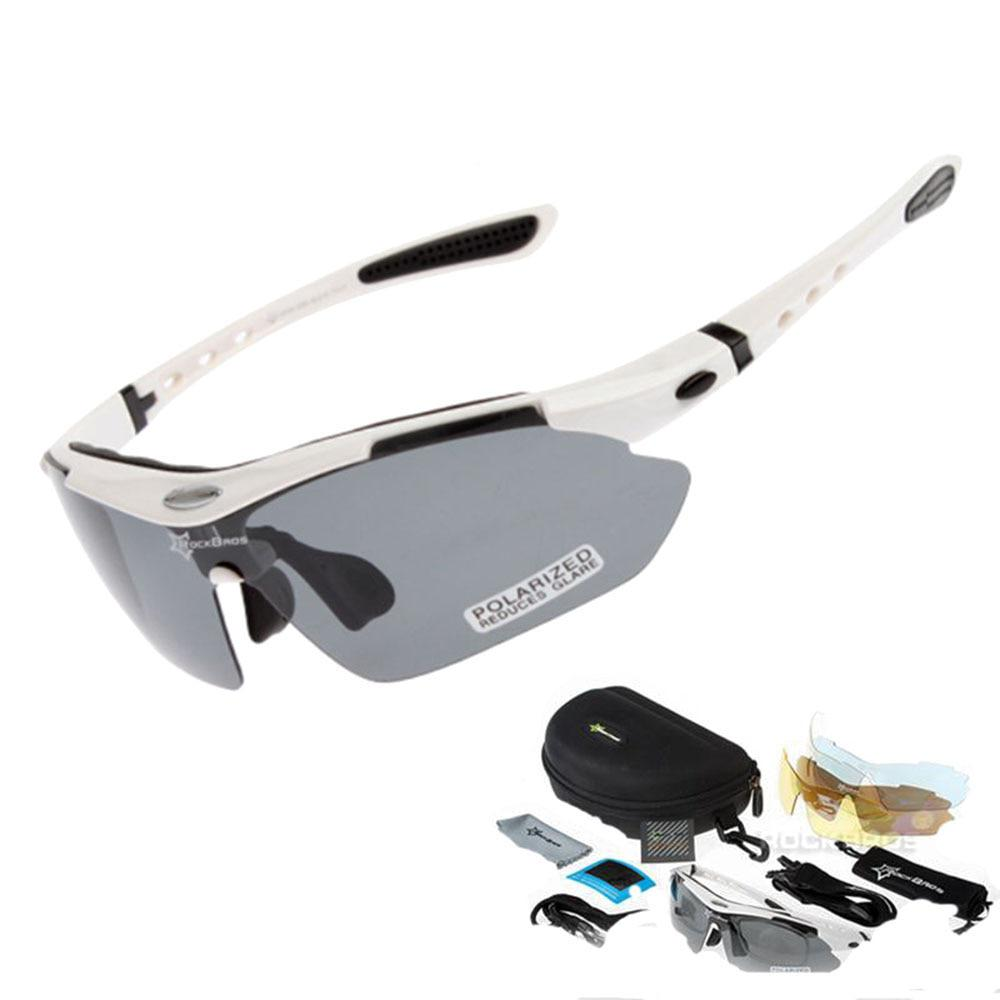 HOT Cycling Glasses Men Bike Bicycle Eyewear Outdoor Sports Polarized Sunglasses