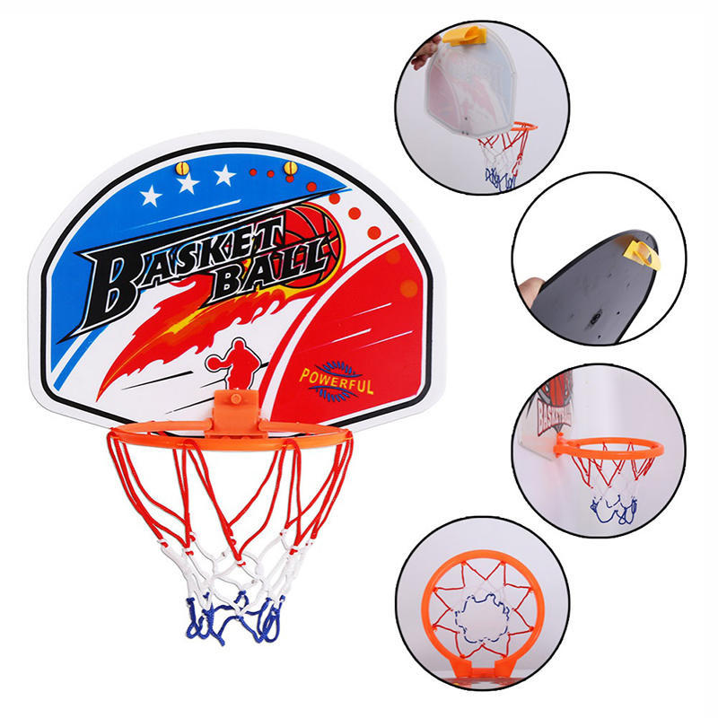 Kids Basketball Sports Training Hoop Magic Shoot Indoor Mini Hanging Backboard