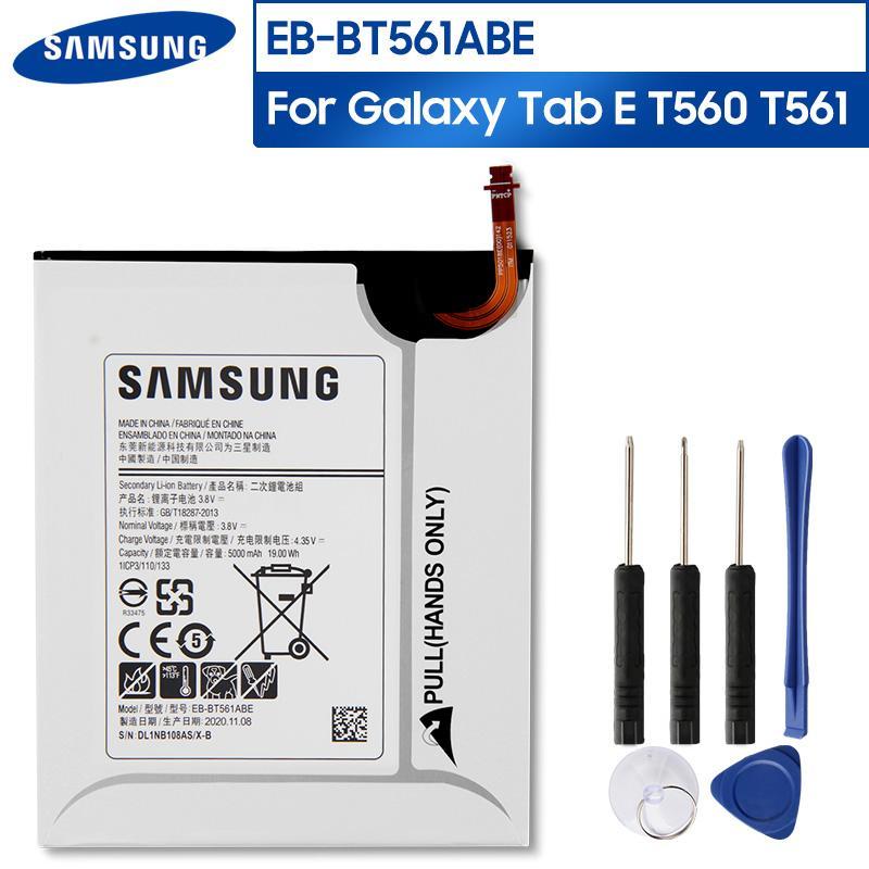 Оригинальный сменный аккумулятор для планшета EB-BT561ABE для Samsung GALAXY Tab E T560 T561 SM-T560 EB-BT561ABA 5000mAh купить недорого — выгодные цены, бесплатная доставка, реальные отзывы с фото — Joom