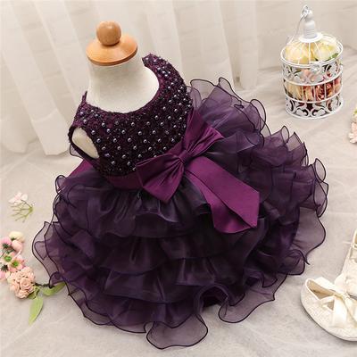 e2348d514d Koronkowe sukienki kwiatowe dla dziewczynek Suknia dla dzieci Sukienki dla  niemowląt Sukienki dla niemowląt Baby Birthday
