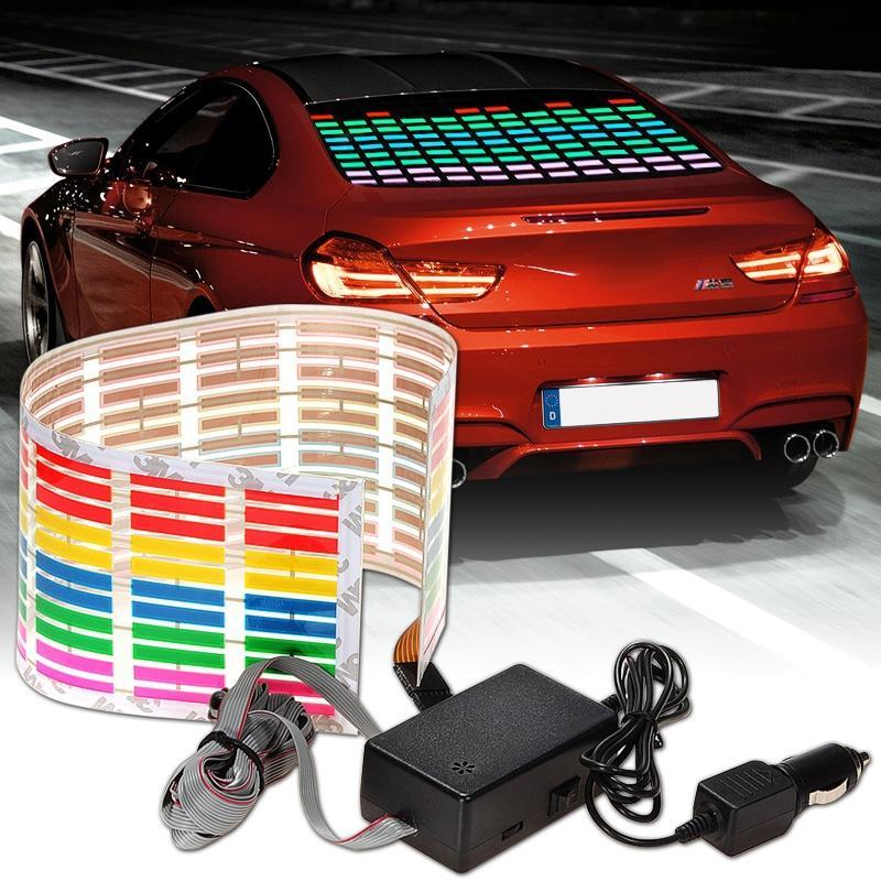 Musical Instruments & Gear 45x11cm Auto Musik Rhythmus Led Licht Lampe Aufkleber Sound Aktiviert Equalizer
