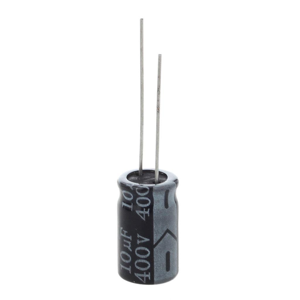 10 piezas de plomo 400V 22uF 105C radial condensador electrol/ítico de 13 mm x 22 mm