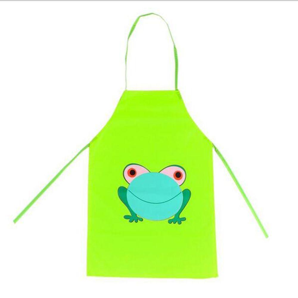 Lovely Frog Kids Child Printed Apron Painting Children Cooking Buy From 4 On Joom E Commerce Platform