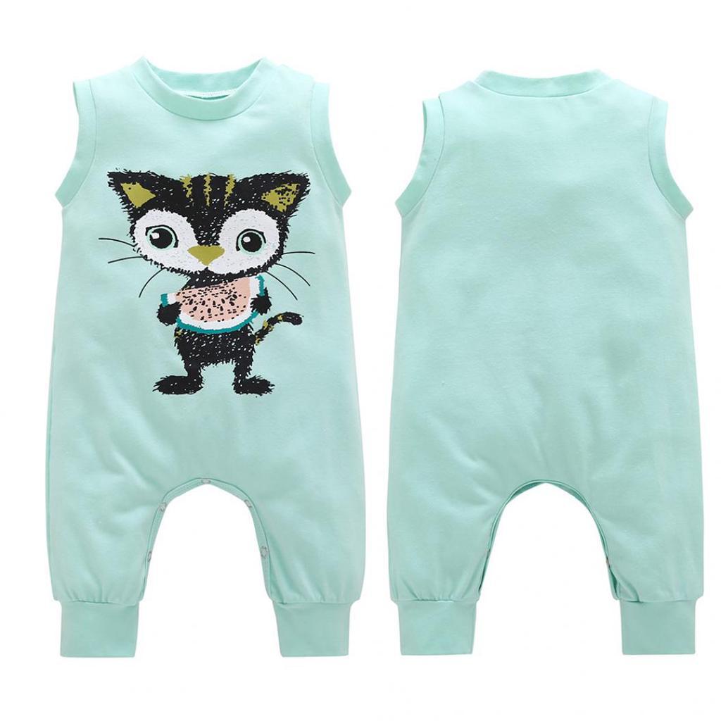 Tiger Spit Rainbow Toddler Girls T Shirt Kids Cotton Short Sleeve Ruffle Tee