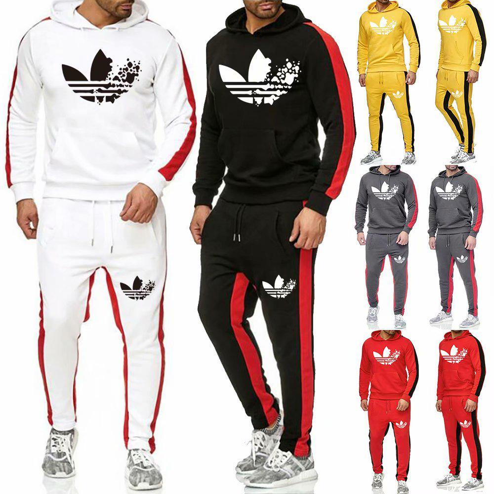 2020 Men's Sports Suit Spring And Autumn Sportswear Men Fitness Running  Suit Hoodie + Pants 2-piece Set Sportswear Jogging Suits-buy at a low  prices on Joom e-commerce platform