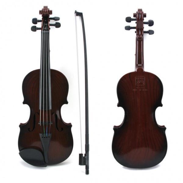 Rose ZXIAQI Enfants Simulation Violon Instrument de Musique Jouet Lumineux pour Enfants Pretend Play pour Les Gar/çons D/ébutants Filles Cadeau