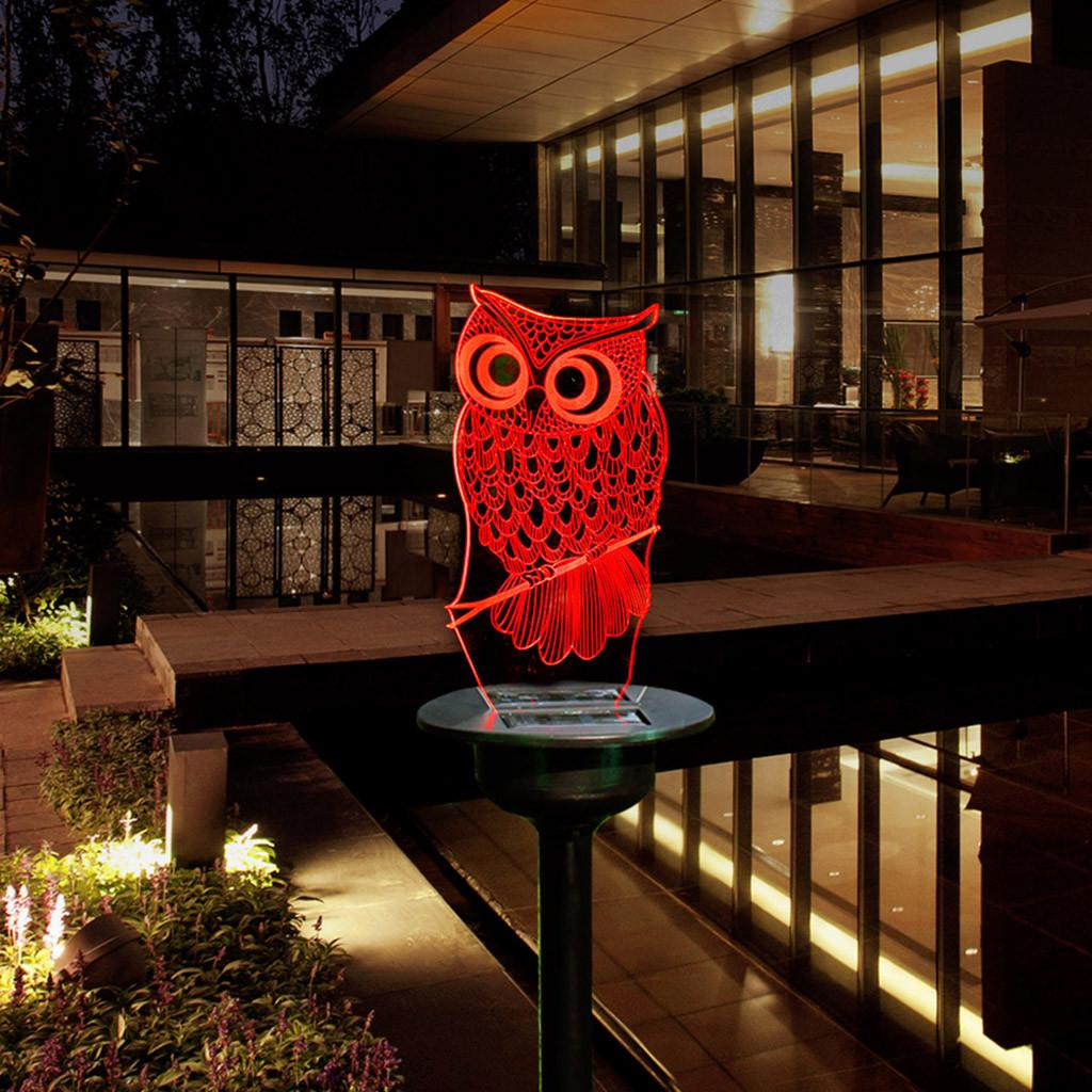 Solar LED Animal Ornament Lights IP65 Outdoor Garden Lawn Decor Landscape Lamp