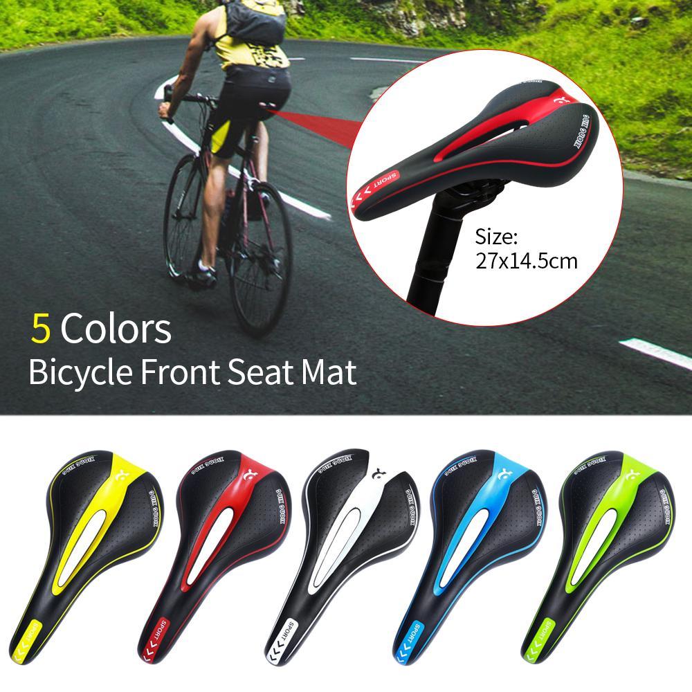 Road Racing MTB Bike Carbon saddles Bicycle Seats white+black 1pcs seat