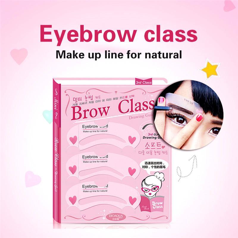 Fashion Eyebrow Makeup Thrush Auxiliary Tool Eyebrow Shape Mould