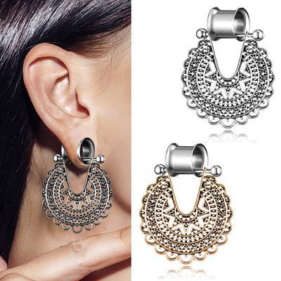 Body Jewelry 10 20mm Flesh Tunnels Organic Wood Ear Gauges Ear