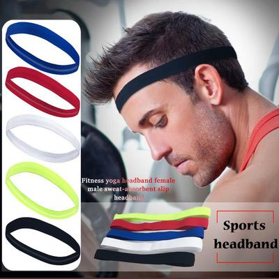 Aolikes Yoga Hair Bands Cotton Sweat Headband For Men Sweatband