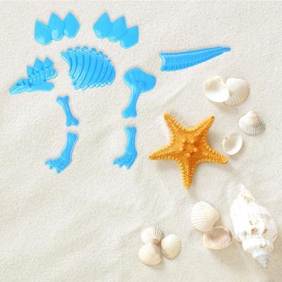 Funny Dinosaur Skeleton Bone Sand Mold Beach Toys For Baby