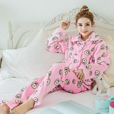 d372cf6cfed3e7 Mulheres quentes pijamas flanela inverno veludo Coral camisola pijamas  pijamas conjunto