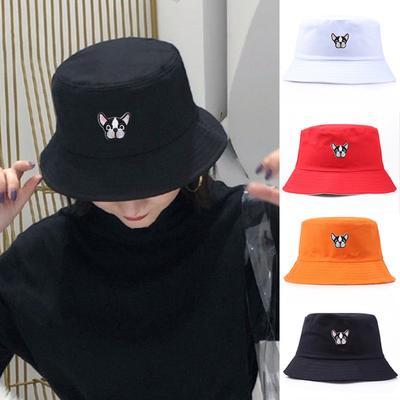Fashion Chinese Panda Print Foldable Outdoor Sports Hip Hop Cap Fisherman Bucket Hat Sun Visor Fishing Caps