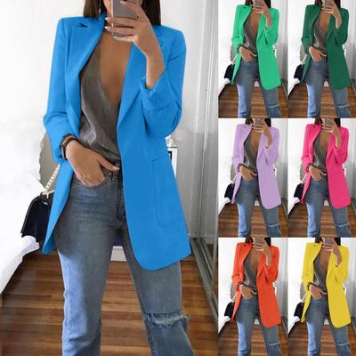 LOVE Women Autumn Winter Long Sleeve Office Coat Cardigans