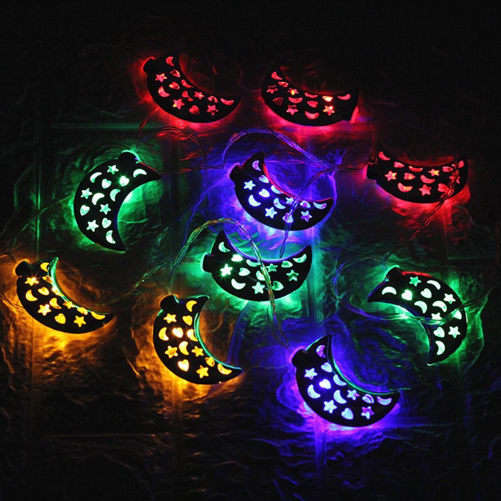 Fairies Garland Kerosene Lanyard Rope LED Battery Powered Outdoor Decor Lights
